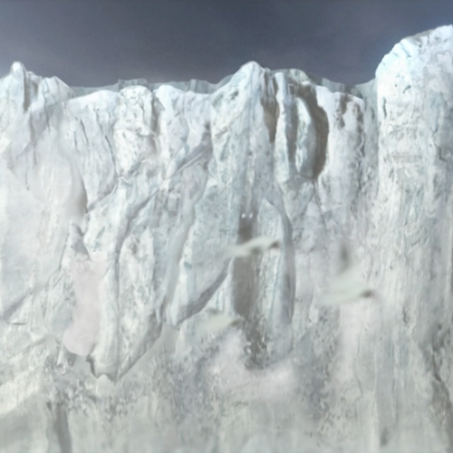 "Glacier Animation for CBC's ""Nature of Things – Code Breakers"""