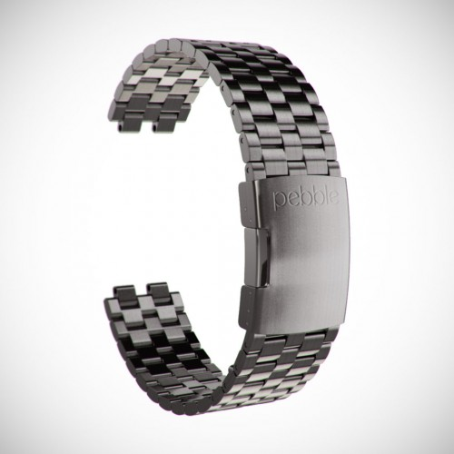 Pebble Steel Band Product Visualization